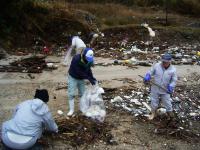 海岸清掃ボランティア00